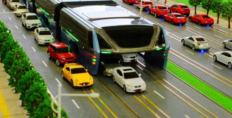 TEB-1, el autobús chino que resolvería el tráfico del mundo, resultó ser un fraude