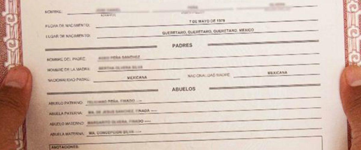 Hermosa Certificado De Nacimiento Para Imprimir Gratis Fotos - Cómo ...