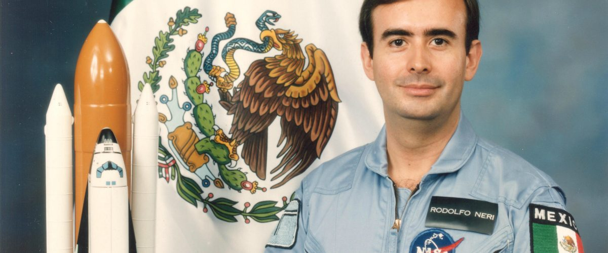Rodolfo Neri Vela, el primer astronauta mexicano en el espacio