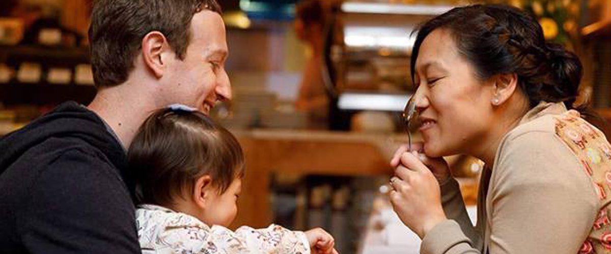 Zuckerberg se va de Facebook…para cuidar a su segunda bebé