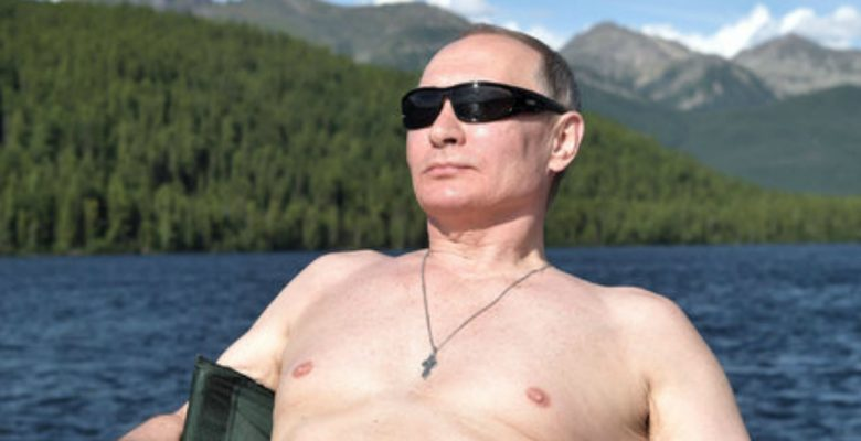 Así fueron las espectaculares vacaciones del presidente de Rusia