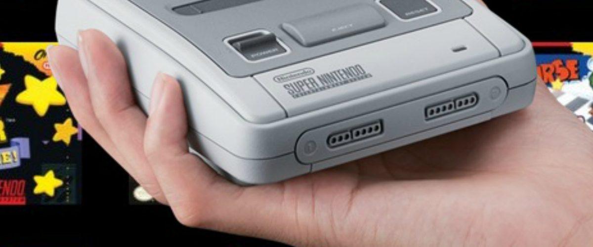 Nintendo apela a la nostalgia para vender su Super Nintendo Classic Edition