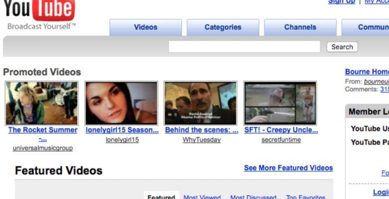 Así de drástico han cambiado las páginas web más famosas en 10 años