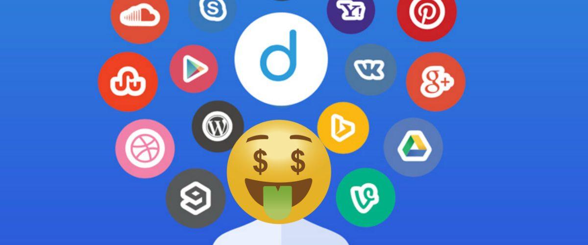 GANA DINERO… Vendiendo tu información a Facebook, Google, Instagram o Twitter