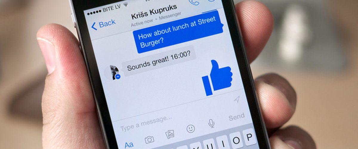 ¿Usas Facebook Messenger? Ten cuidado con esto