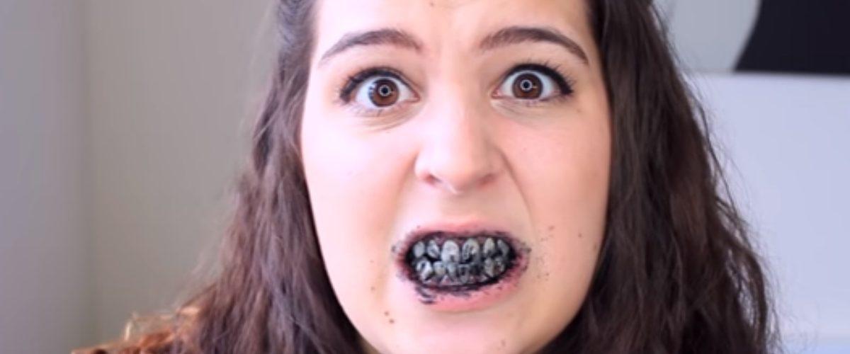Sonrisas negras: la moda más negra y peligrosa de lo que parece