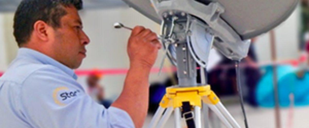Instalan internet satelital gratuito para afectados en Parque México