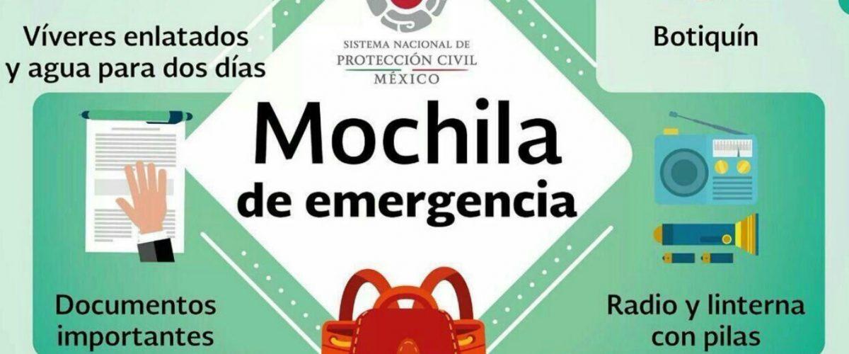 La mochila que te puede salvar la vida ante un sismo o desastre natural
