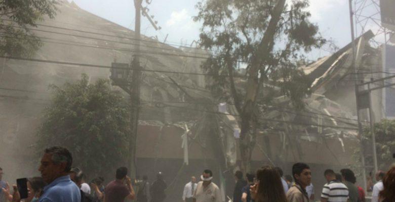 Temblor de 7.1 grados sacude México