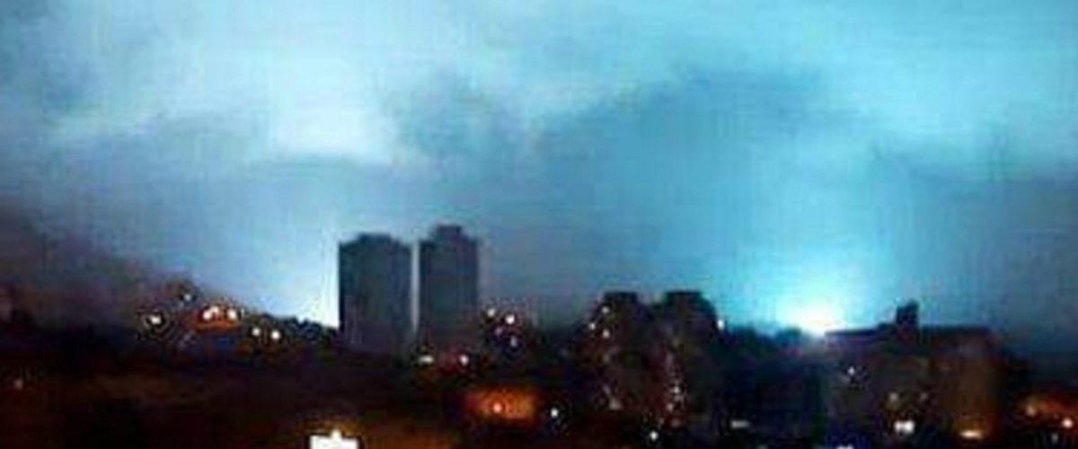 ¿Qué son las luces que se vieron en el cielo durante el temblor?