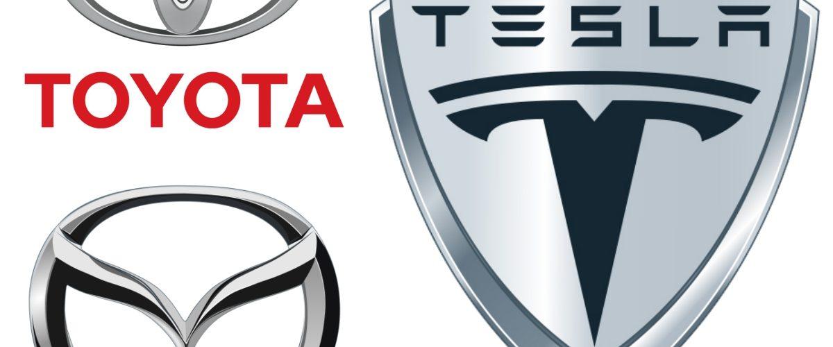 Agárrate Tesla, Toyota y Mazda se unen para crear empresa de vehículos eléctricos
