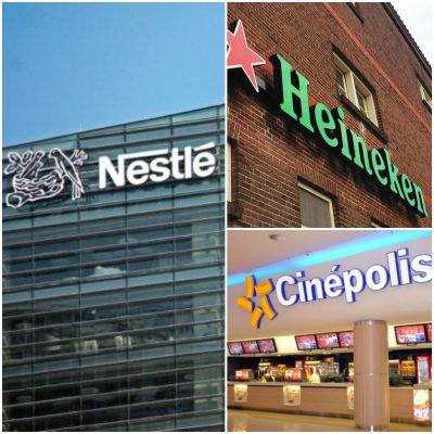 Estas empresas también se unen y apoyan a México
