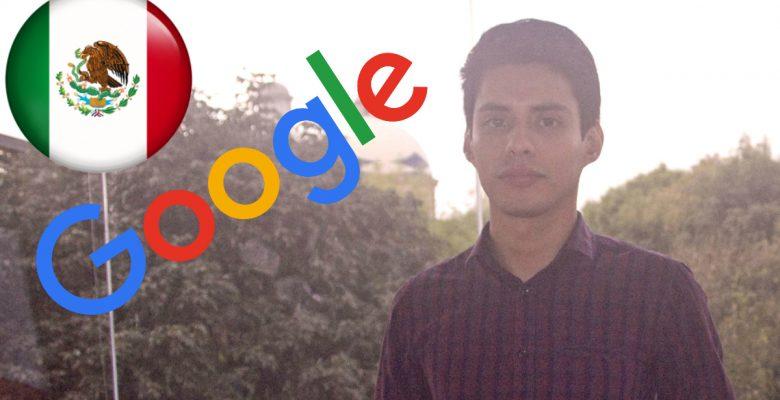 Mexicano recibe Premio Google a la Investigación