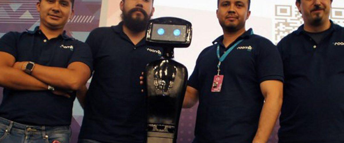 Mexicanos crean un robot asistente en el hogar
