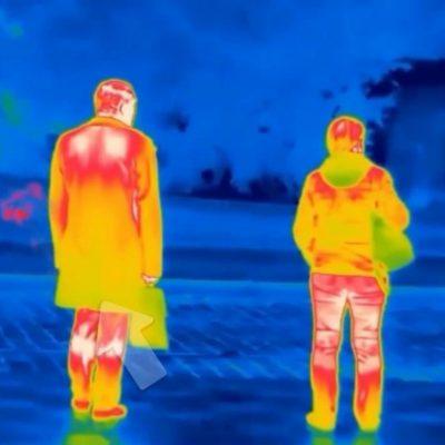 Estas son las cámaras térmicas que localizan víctimas