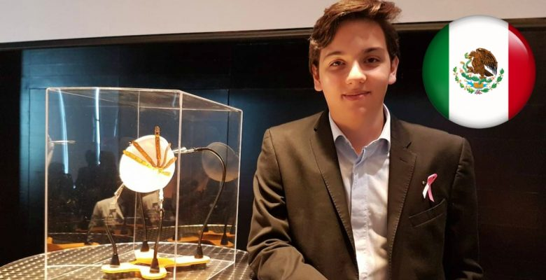 Joven mexicano crea dispositivo portátil para detectar cáncer de mama