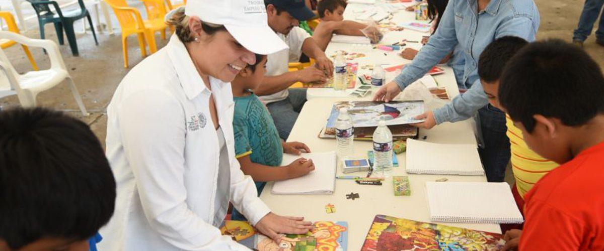 Brigadas Puntos México Conectado en Oaxaca