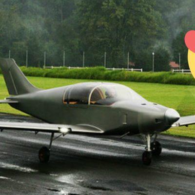 Así es el nuevo avión desarrollado en México
