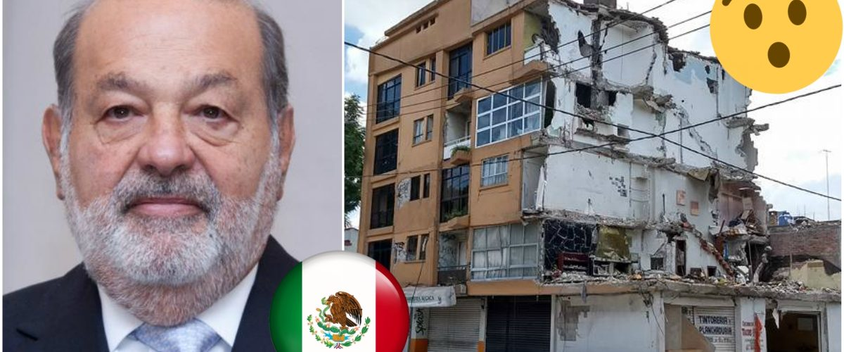 Así es como Slim contribuirá a la reconstrucción de México tras el sismo
