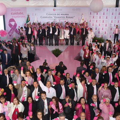 ISSSTE ha reducido tasa de mortalidad por cáncer de mama, afirma Reyes Baeza