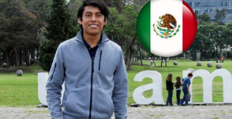 Es mexicano, de origen indígena y estudiará una maestría en Física en Alemania