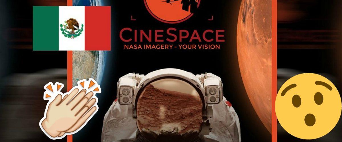 Cineasta mexicano deslumbra en concurso de la NASA