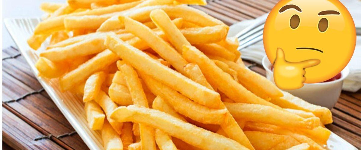 La ciencia te dice por qué las papa fritas saben mal cuando se enfrían