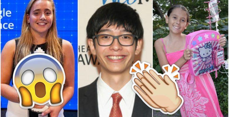 5 inventores brillantes con menos de 18 años