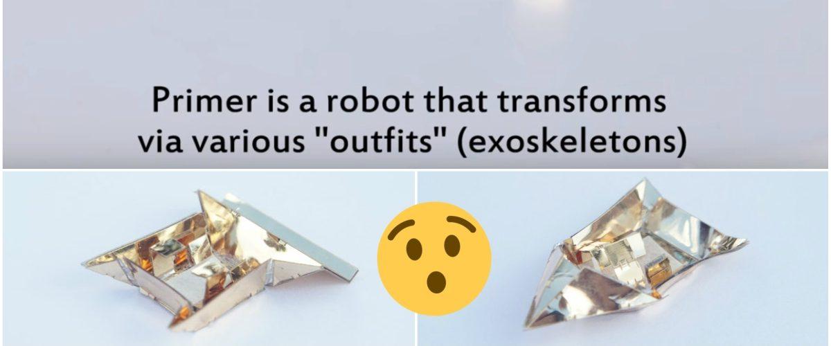 Los robots transformers son una realidad gracias a esta universidad