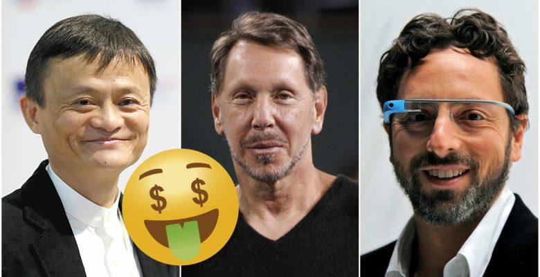Ellos son los 7 hombres de la tecnología que más ganan por día