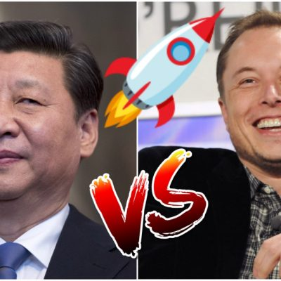 China le declara la guerra a Space X, agárrate Elon Musk