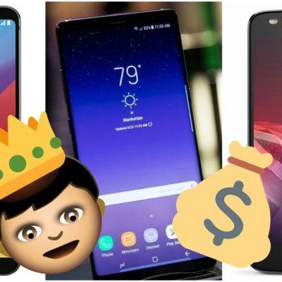 Estos serán los smartphones más codiciados durante el Buen Fin