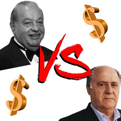 Slim vs Amancio, guerra de millonarios