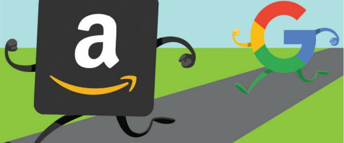 Amazon vs Google, batalla entre gigantes por el dominio de la red