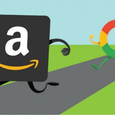 Amazon vs Google, batalla entre gigantes por el dominio de la red