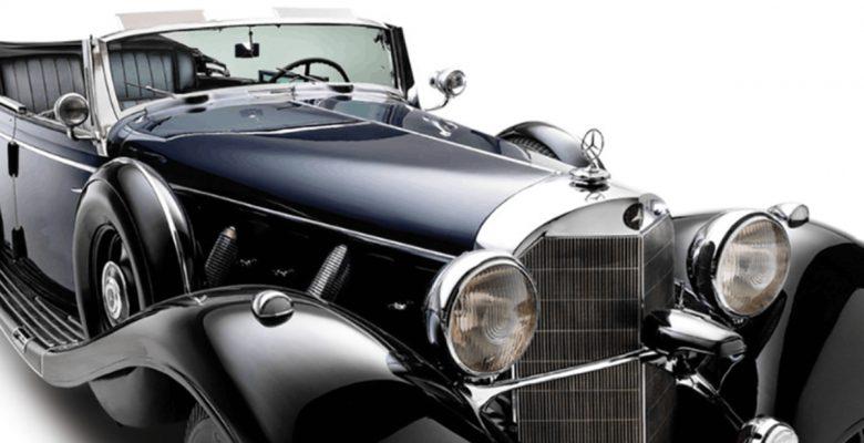 FOTOS: Será subastado el 'Súper Mercedes' usado por Adolfo Hitler en 1939
