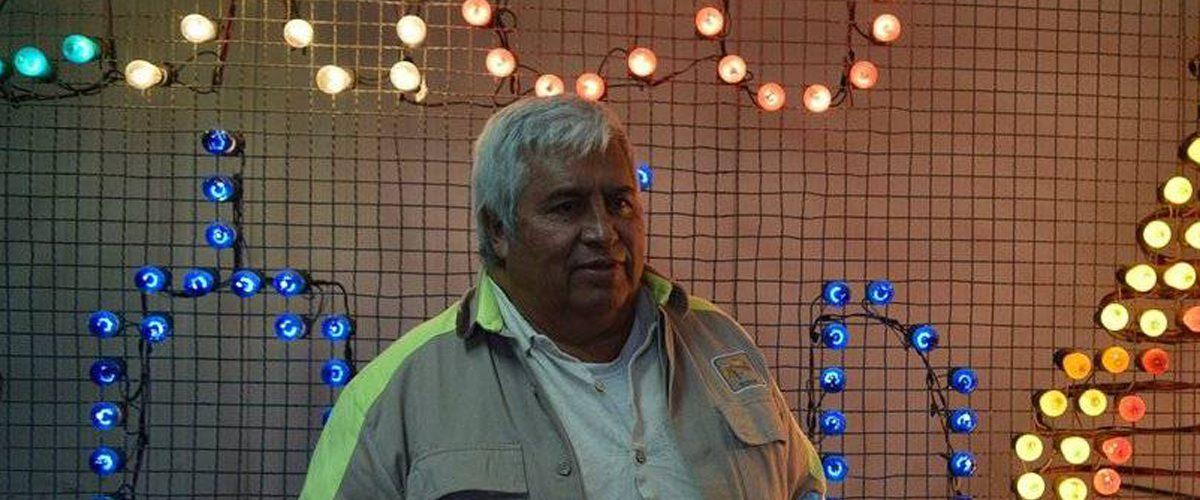 El mexicano que ilumina la Ciudad de México en diciembre