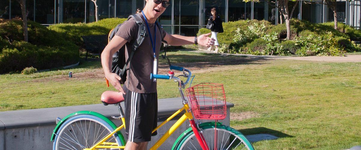 Google tuvo que ponerle GPS a sus bicicletas porque se las estaban robando