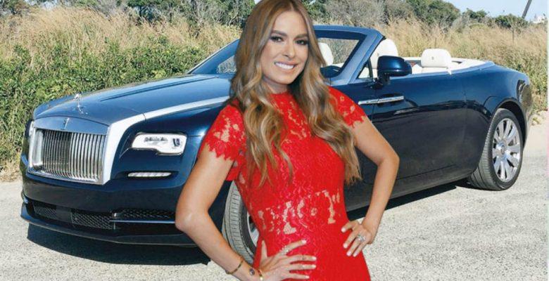 El automóvil de superlujo y millones de pesos que se auto regaló Galilea Montijo