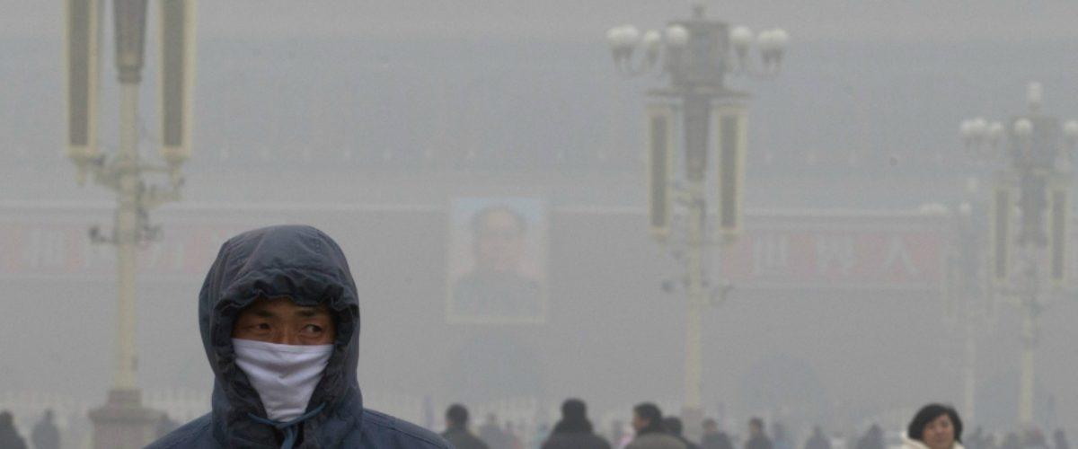 Este purificador chino gigante planea terminar con la contaminación