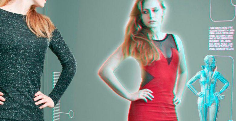 Amazon patentó un espejo inteligente para probarte ropa virtualmente