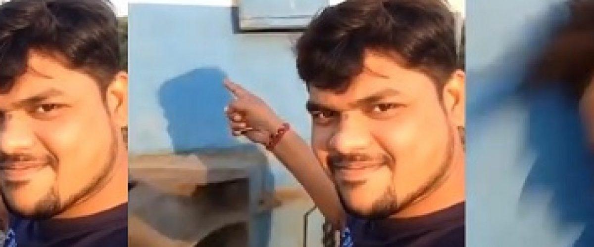 VIDEO: Quiso tomarse una selfie frente al tren y…