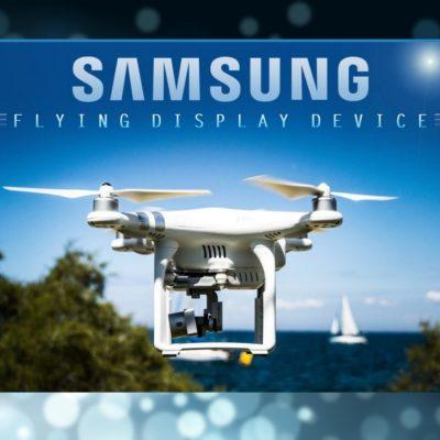 Samsung patenta su propio drone controlado por ojos y voz