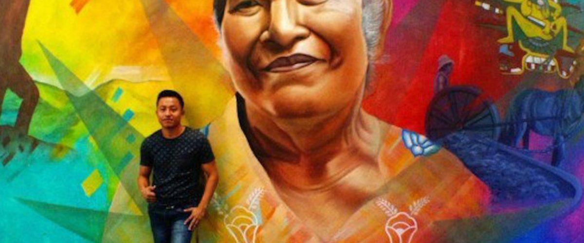 Este graffitero de origen zapoteca llevó su arte a Dubái