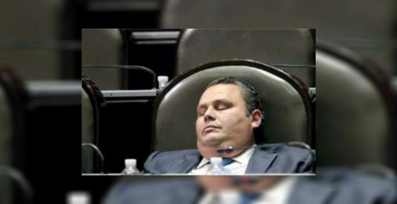 En Europa exhiben en memes a los diputados mexicanos más flojos