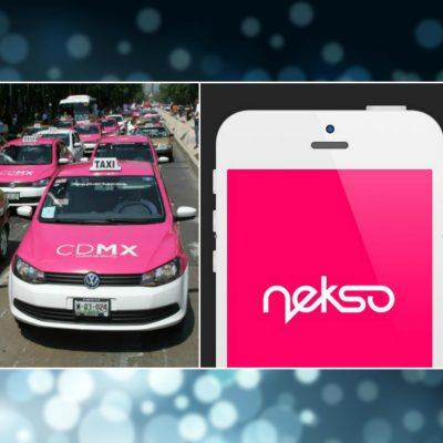 nekso app taxi CDMX