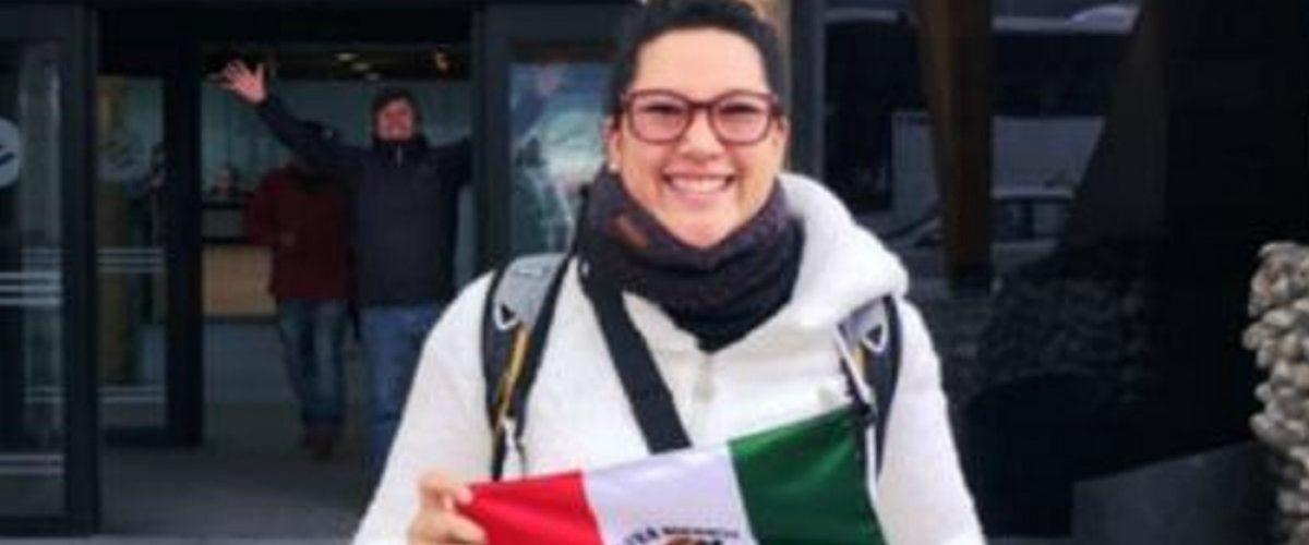 Ella es la primera mexicana en ir a la Antártida para estudiar el cambio climático