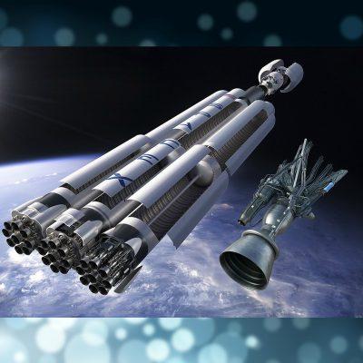 SpaceX lanzó dos satélites al espacio para llevar internet a todo el mundo