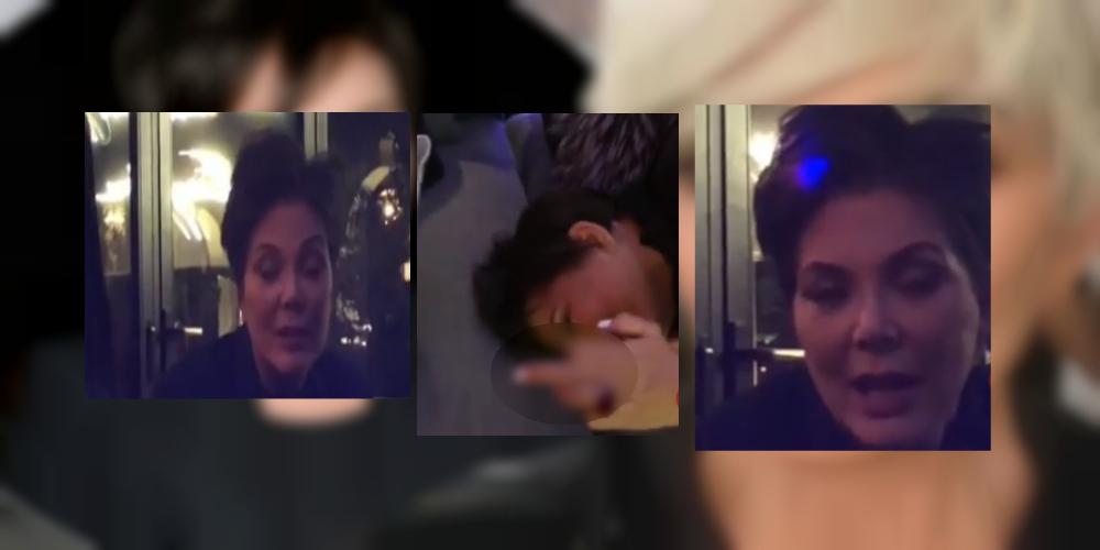 Captan a la mamá de las Kardashian borracha y haciendo 'exótico' twerk