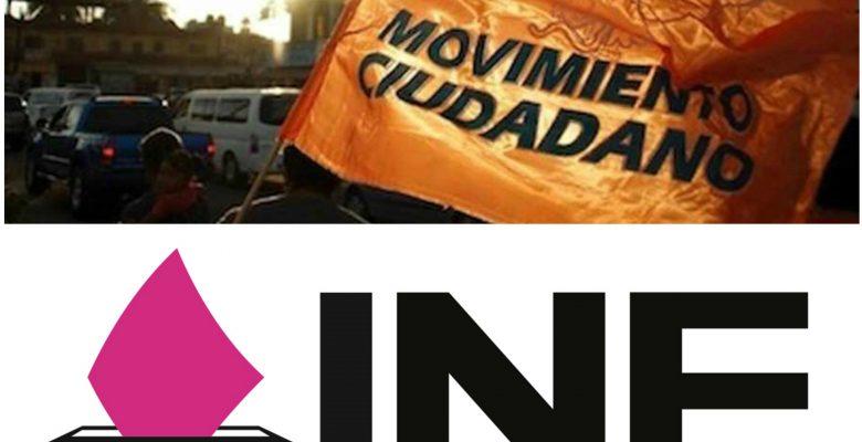 INE impone multa millonaria a Movimiento Ciudadano